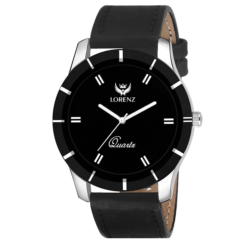 LORENZ Combo Of Black Men's Wallet ,Sunglasses & Watch ...