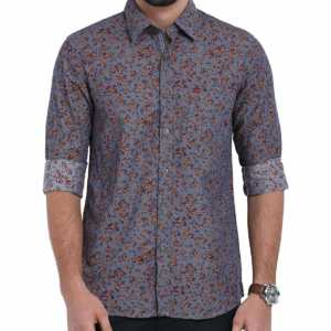 Classic Polo Multicolor Printed Shirt for Men